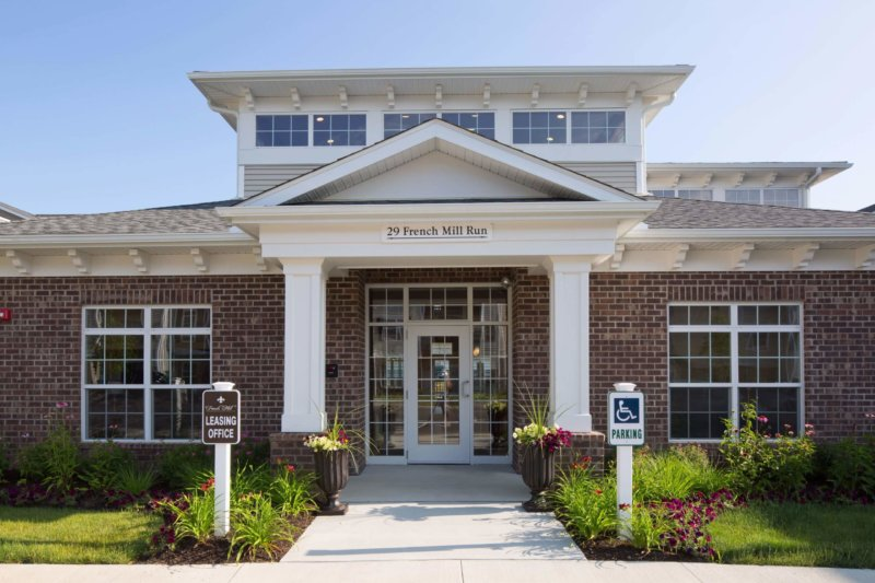 French Mill Apartments Clubhouse exterior entrance