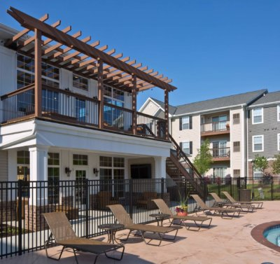 French Mill Apartments pool and exterior balcony