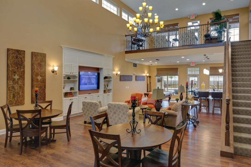 French Mill Apartments Clubhouse with nice furniture